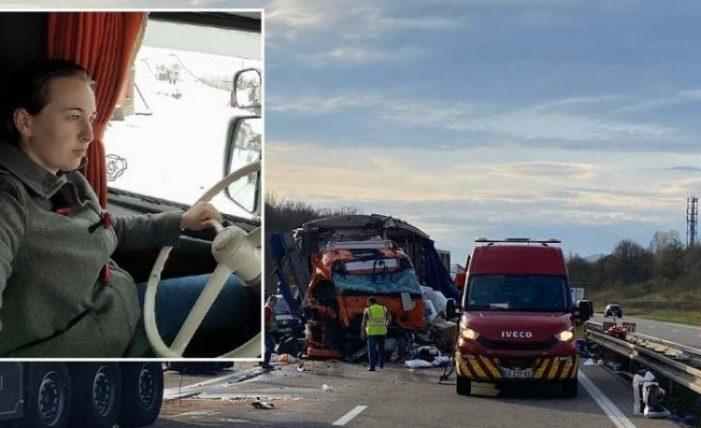 Accident teribil ! O romanca a murit în Franța. Trei copii orfani !