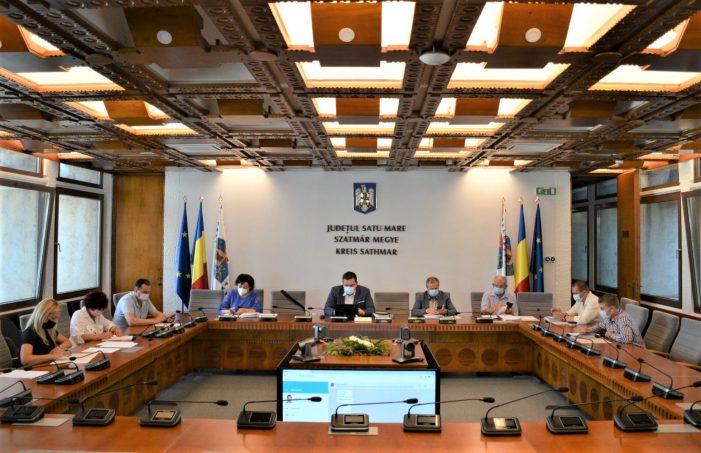 S-a rectificat bugetul Consiliului Judetean