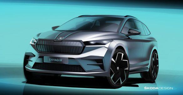 Skoda își lansează primul SUV electric ? Primele imagini (Foto)