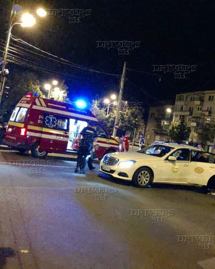 Accident lângă Muzeul Judetean. Doua victime (Fotogalerie)