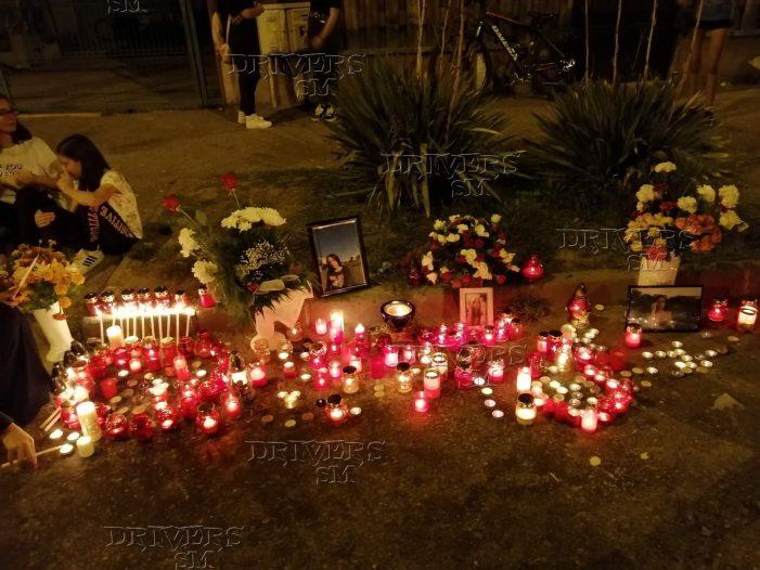 Zeci de candele și rugăciuni inaltate în memoria Karinei (Foto)
