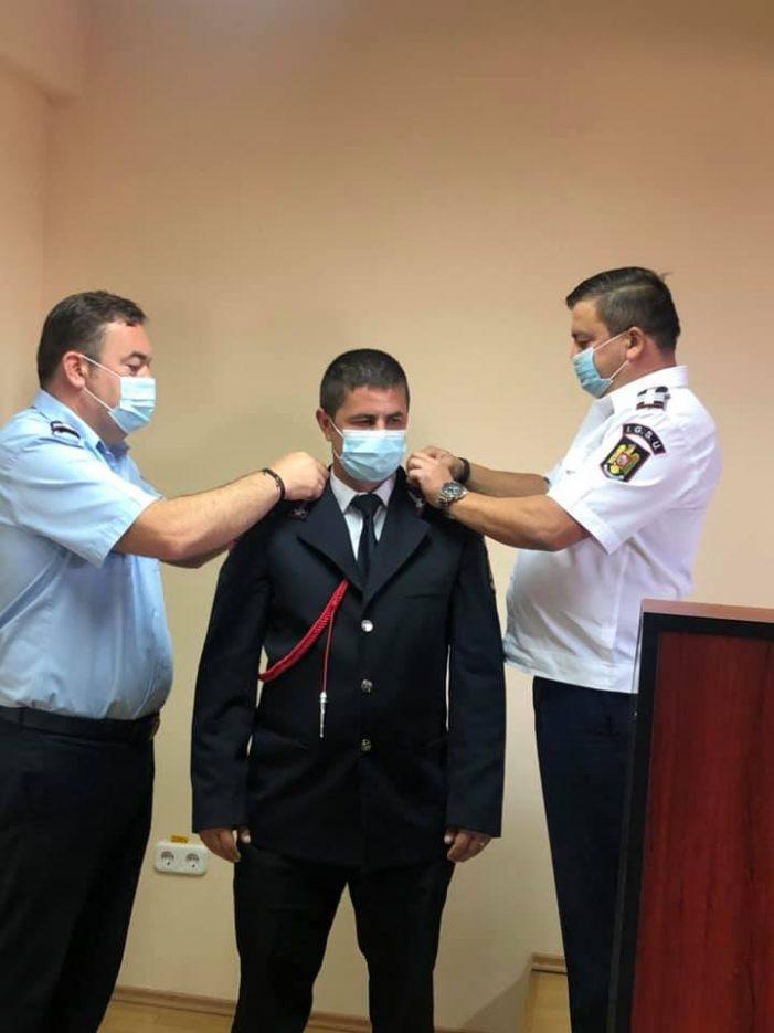 Ziua Pompierilor: 5 subofiteri, avansati în grad (Foto)
