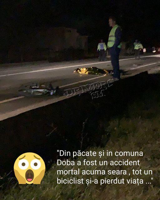 Ce spune Politia despre accidentul mortal de la Doba ?