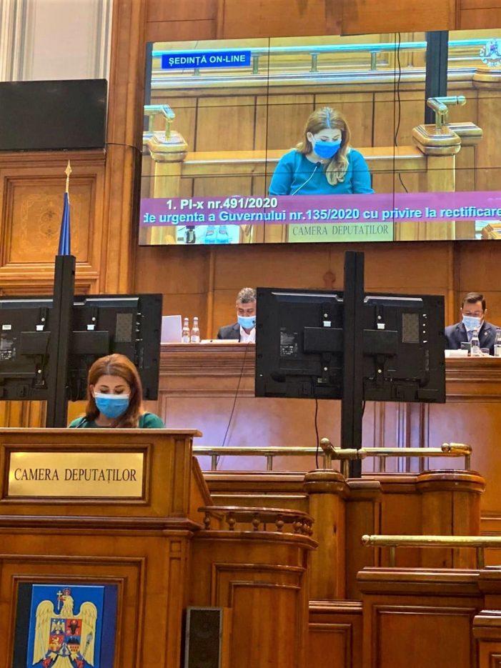 """Ioana Bran: """"Rectificarea bugetului de stat și cea a bugetului de asigurări sociale se va face în favoarea românilor!"""""""