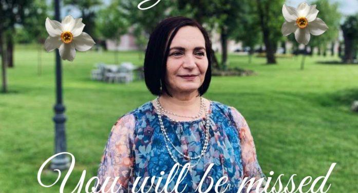 Elevii eminescieni, omagiu în memoria prof. Gabriela Valean