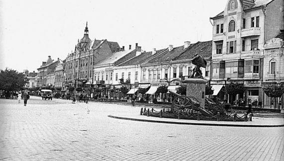 Parfum de epoca. Cum arata centrul Satmarului în 1930 ? (Foto)