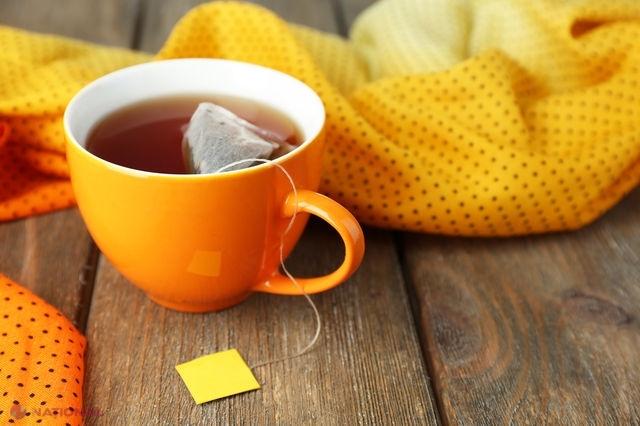 Nu mai arunca pliculețele de ceai după folosire! Uite la ce le poți folosi