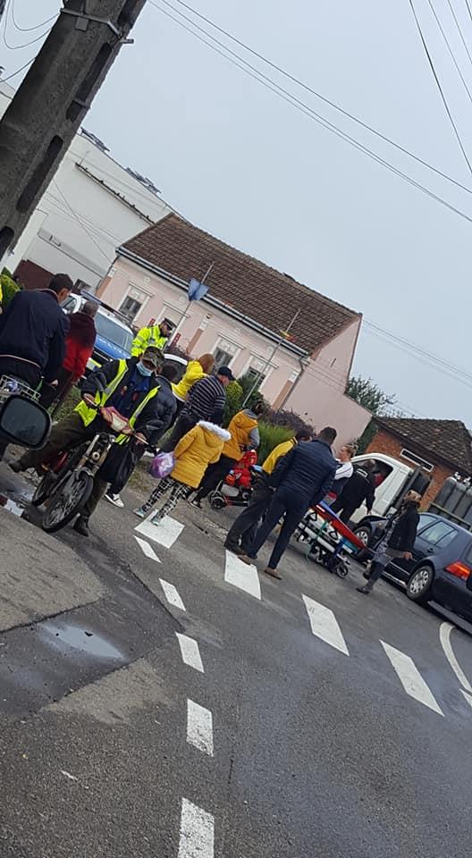 Accident la Ardud. O victima (Foto)