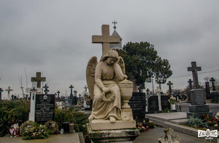 Cimitirul pazit de îngeri. Se afla în judetul Satu Mare (Foto)