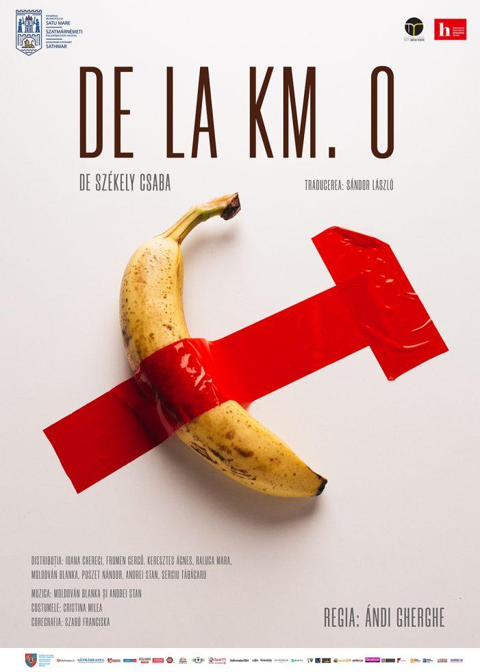 "Teatrul de Nord deschide stagiunea de interior cu premiera ""De la km. 0"""