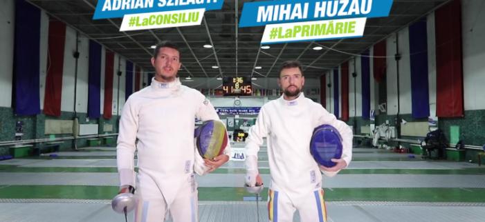 """Mihai Huzau: """"Promovarea performanței sportive, o prioritate pentru mine ca viitor primar"""""""