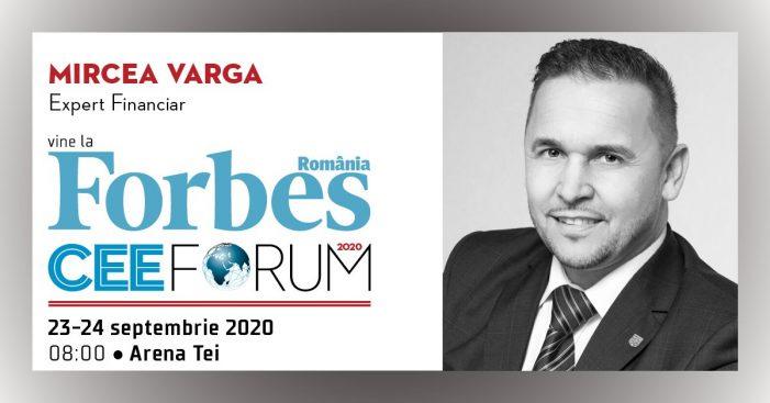 Satmareanul Mircea Varga, participa la Forbes CEE Forum 2020 !