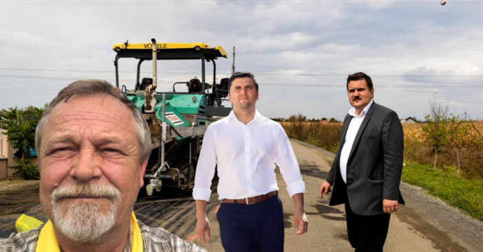 A început asfaltarea Autostrăzii Codrului, în penultima zi de campanie electorală, pe baza unui contract din … 2015!