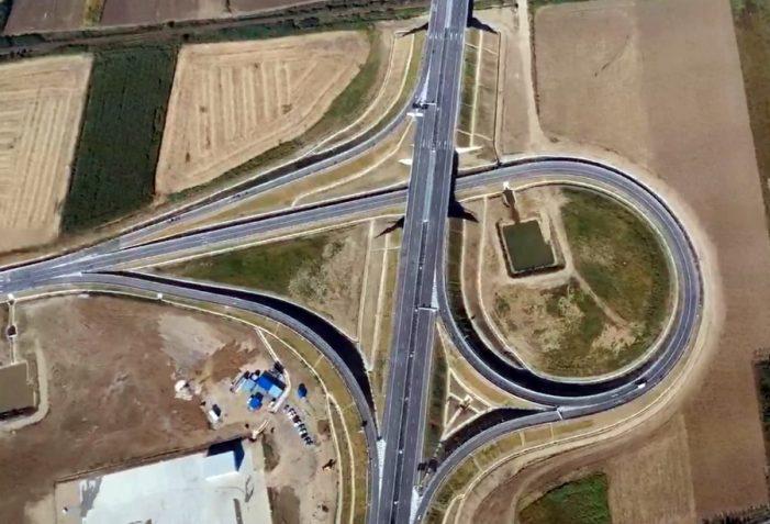 Secţiunea dintre Biharia şi Borş a autostrăzii A3, inaugurata (Foto)