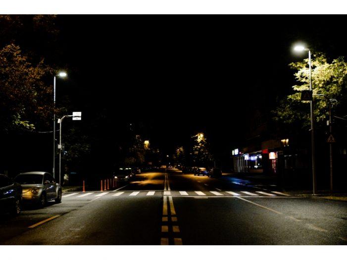 Trecerile de pietoni cu risc, iluminate suplimentar (Foto)