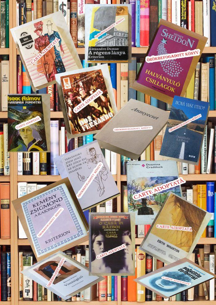 """Campania """"Adoptă o carte!"""", continuă până la data de 15 septembrie"""
