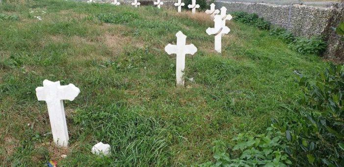Dosar penal pentru profanarea mormintelor de la Socond