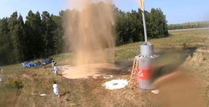 Explozie masivă ! Experiment dus la extrem ! (Video)