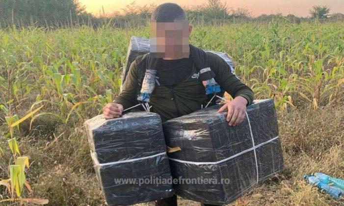 Focuri de arma la granița. Ucrainean de 19 ani, reținut