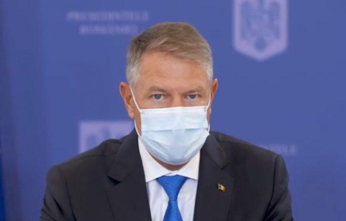 Klaus Iohannis: Alegerile parlamentare trebuie sa aibă loc pe 6 decembrie