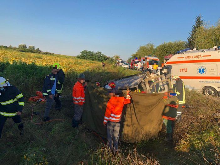 Un asistent medical și un muncitor au murit în tragedia de la Ciuperceni (Foto)