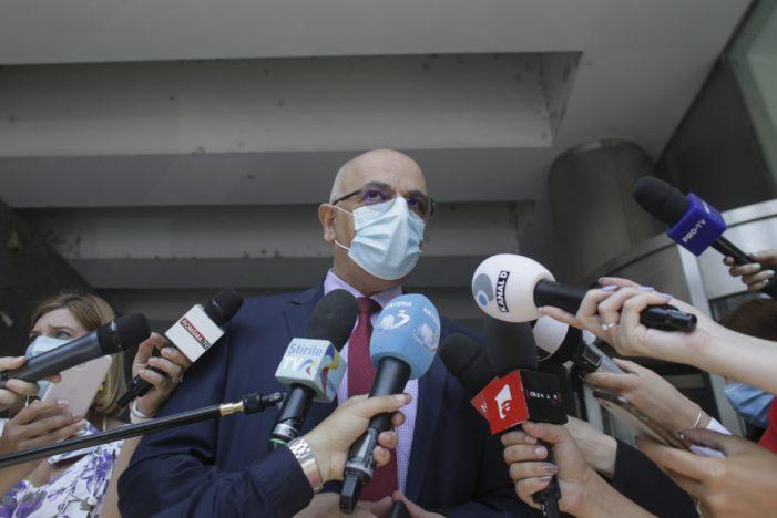 Arafat vorbește despre un nou val al pandemiei în România