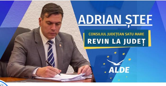 """Adrian Ștef: """"Prioritățile mele sunt dezvoltarea agriculturii și a economiei județului, pentru a crea locuri de muncă bine plătite"""""""