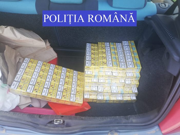 Se plimba cu țigările de contrabanda în portbagaj (Foto)