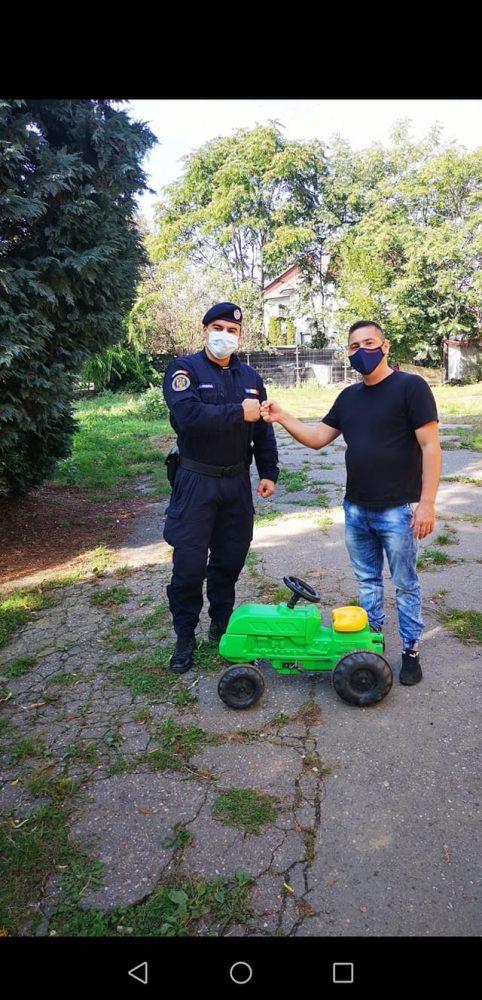 Jandarm și în timpul liber (Foto)