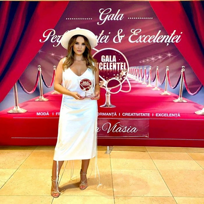 Satmareanca Ioana Calin, premiata la Gala Performantei și Excelentei (Foto)