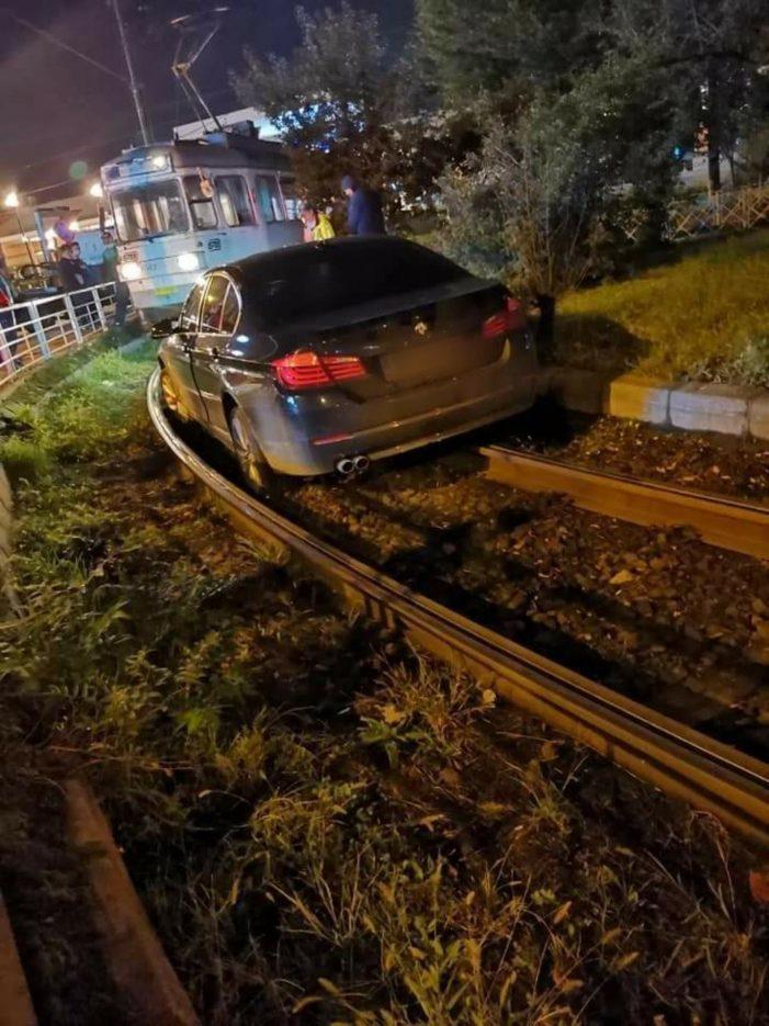 Și polițiștii mai au umor: Tupeu în trafic. Ce a pățit un șofer de BMW (Foto)