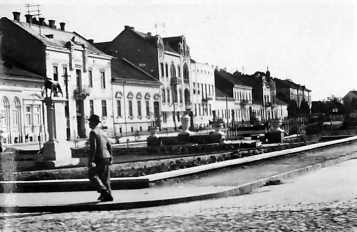 Așa arata actualul Bulevard Vasile Lucaciu, cu aproape un secol în urma (Foto)