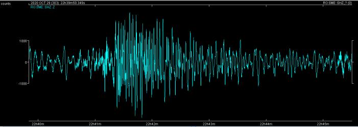 Cutremur în Vaslui. S-a simțit și în Satu Mare