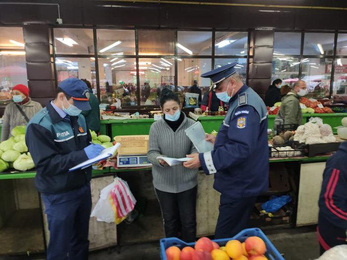 Razie în pietele din Satu Mare ! Amenzi mari