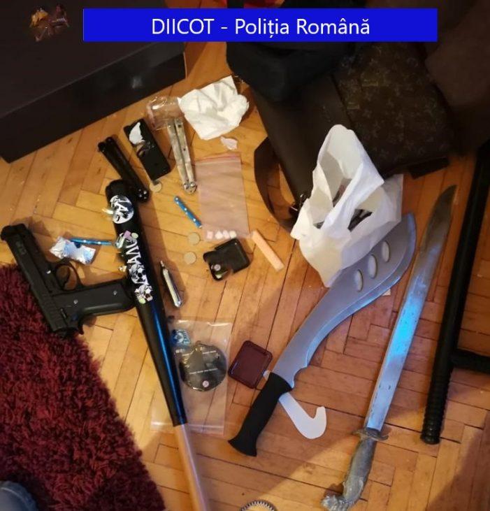 Perchezitii la traficantii de droguri și de migranti. Judetul Satu Mare, vizat de procurori (Foto)