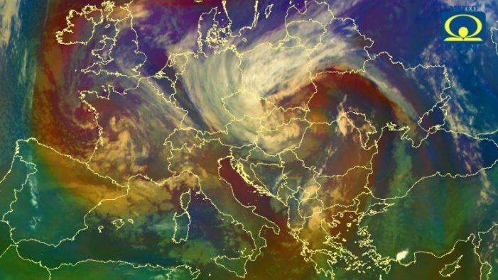Un vortex polar va lovi Romania. Temperaturile se prabusesc !