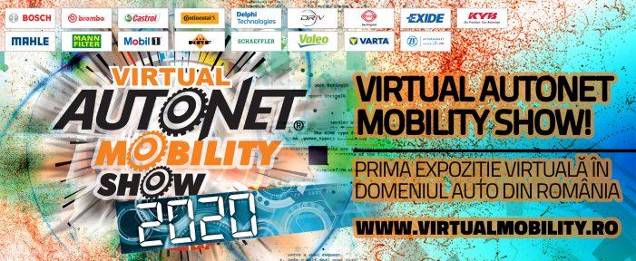Virtual Autonet Mobility Show – prima expoziție virtuală din domeniul auto, în România