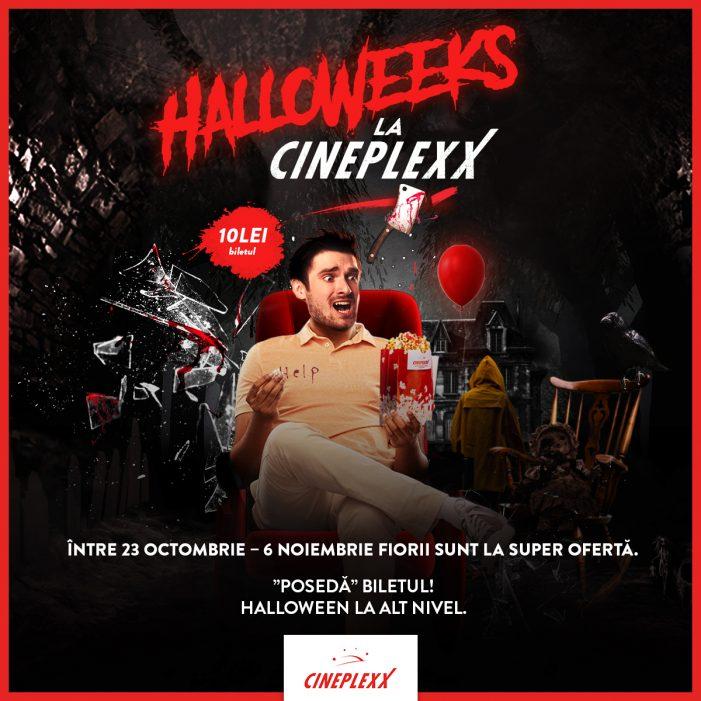 Cineplexx dă startul festinului horror la cinema de Halloween