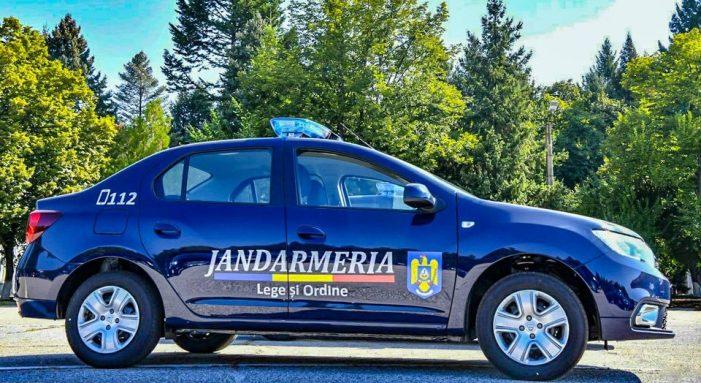 Jandarmii sătmăreni la datorie