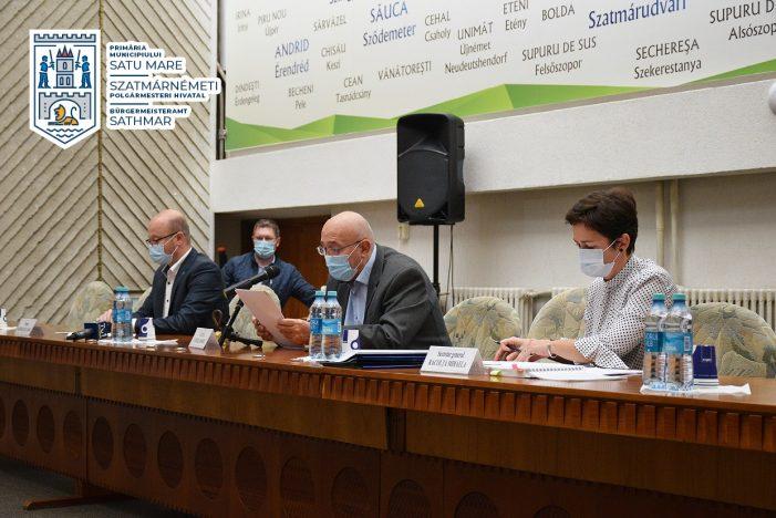 Consiliul local Satu Mare si-a intrat in atributii