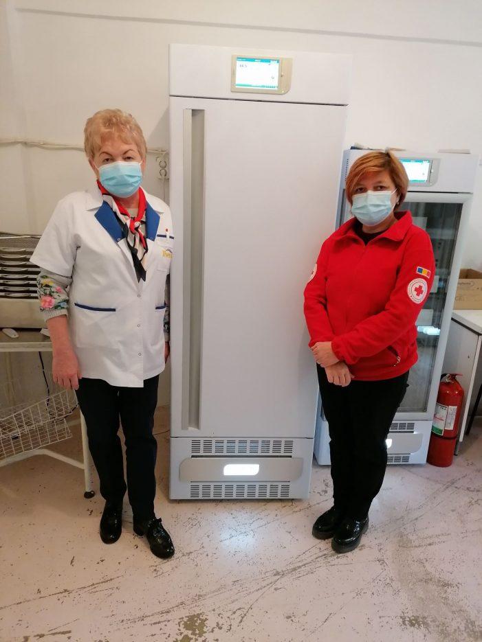Congelator medical pentru plasma, la Centrul de Transfuzii