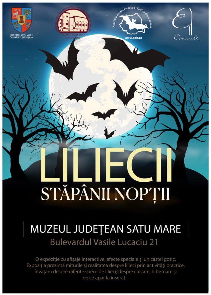 """""""Liliecii – Stăpânii Nopții"""". Expozitie la Muzeul Judetean"""