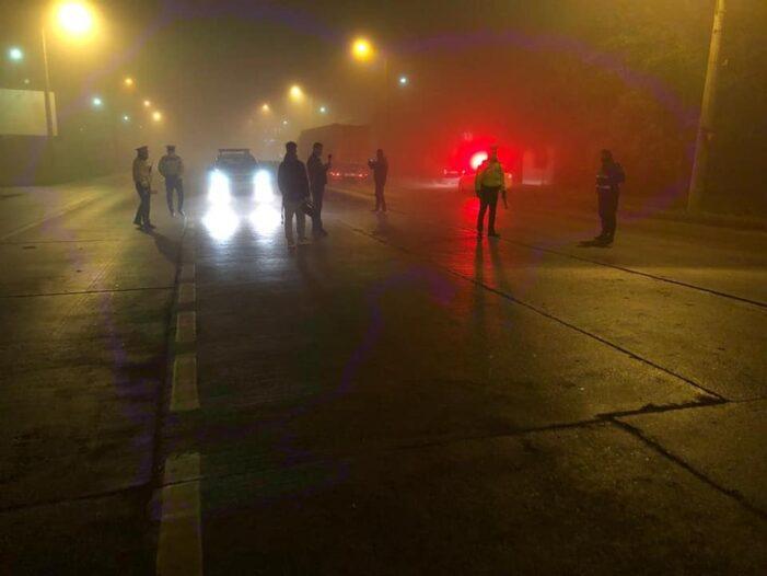 Filtre in miez de noapte la intrarile in municipiul Satu Mare