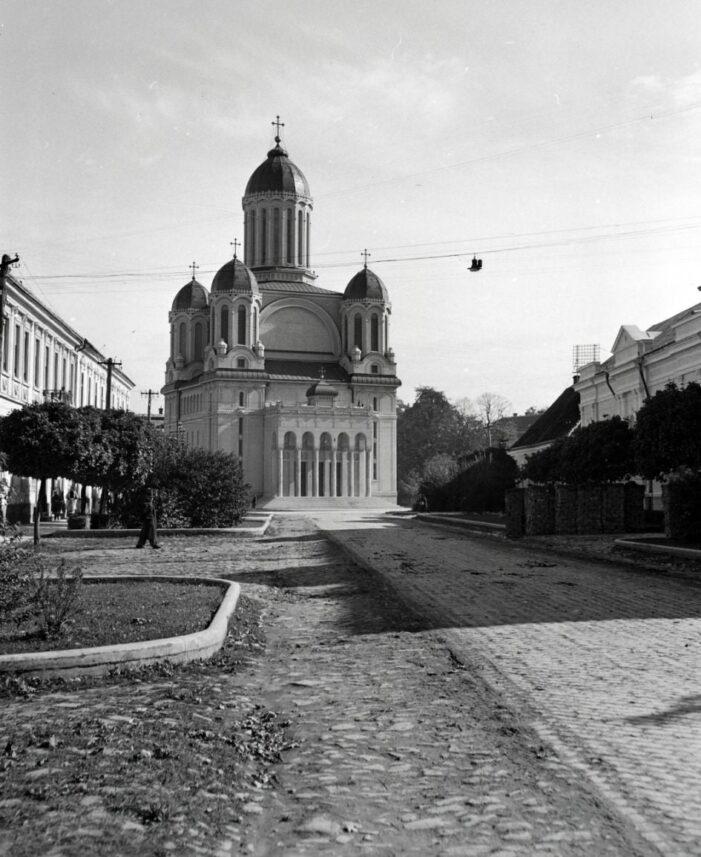 Așa arata actuala strada 1 Decembrie, cu 80 de ani în urma