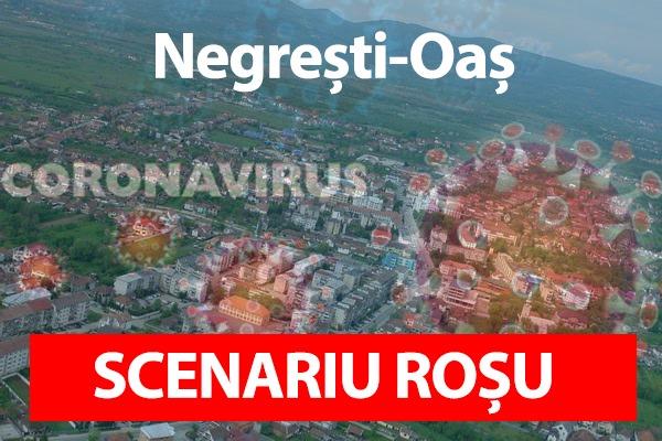 Scenariu Roșu în Negrești-Oaș. Vezi noile masuri !