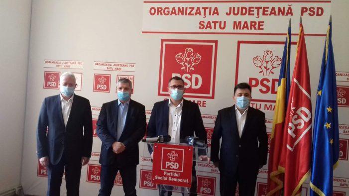 PSD Satu Mare si-a lansat candidatii pentru parlamentare