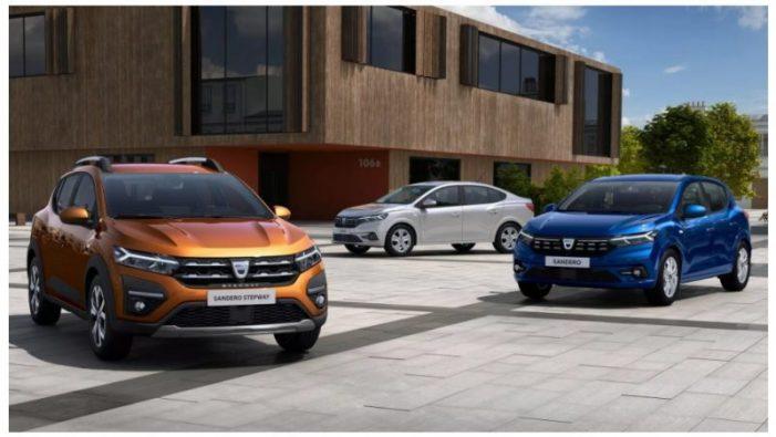 Cât costă noile modele de Dacia Logan, Sandero și Stepway
