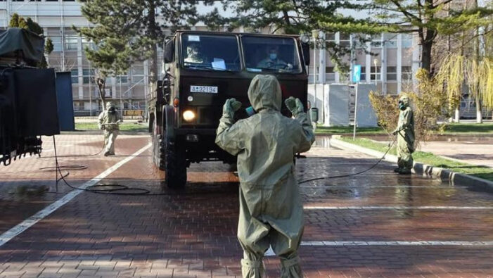 Judet din Romania, sub control militar !