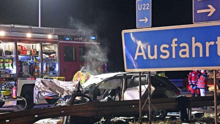 Accident cu patru morți, provocat de un roman (Foto)