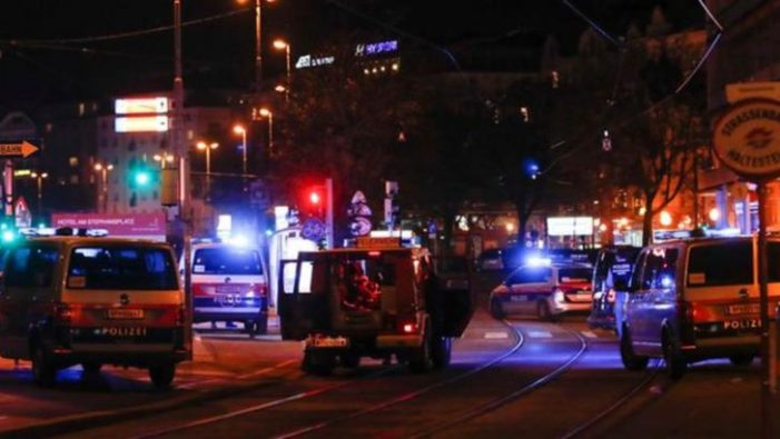 Atac terorist în zona unei sinagogi din Viena. Un mort și 15 raniti